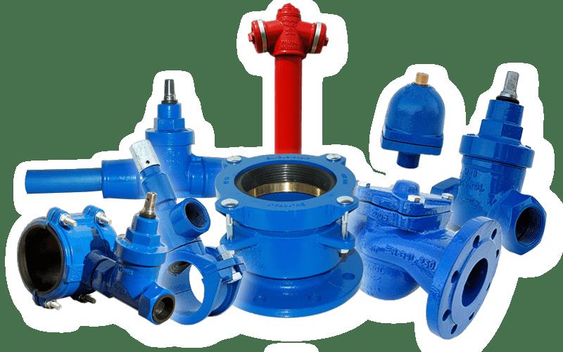 armatura przemysłowa, wodociągowa, kanalizacyjna