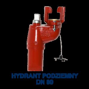 Hydrant podziemny dn80